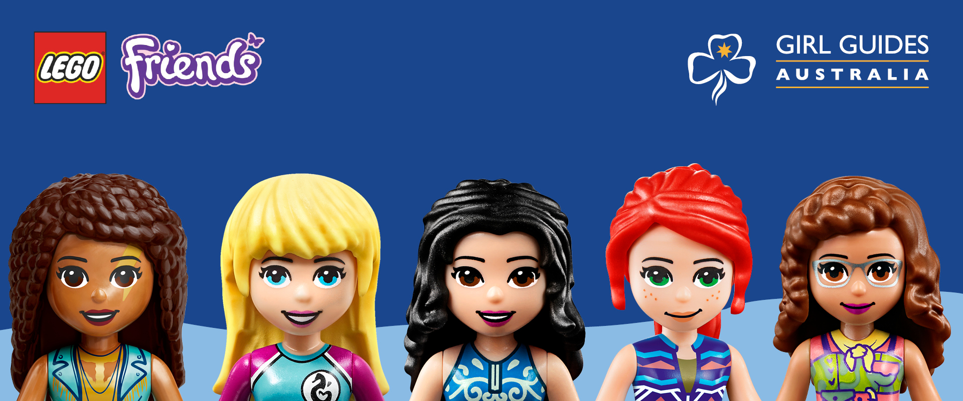 "Girl Guides Australia LEGO <sup class=""registered"">®</sup> Friendship Challenge"